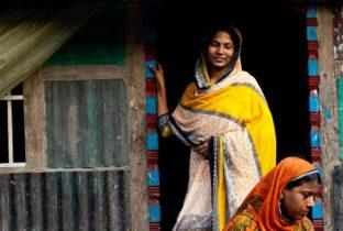 Activist Sazeda in Bangladesh