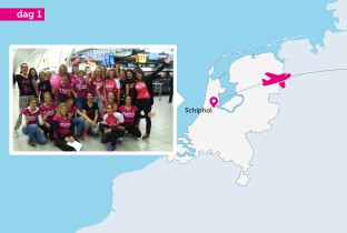 Cycle4Girls - dag voor dag