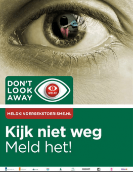 Don't Look Away | Meld kindersekstoerisme