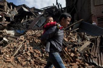 Webbericht Aardbeving Nepal 2804 201504-NPL-26-lpr