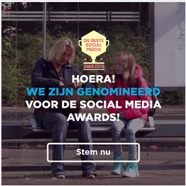 WB De Beste Social Media nominatie