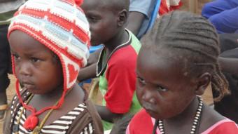 Vluchtelingen in Darfur