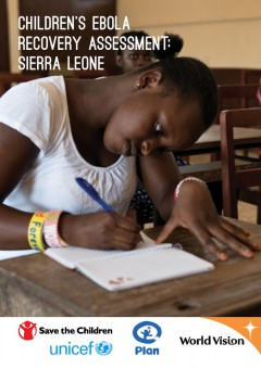 WB ebola-rapport Children's Ebola Recovery Assessment Sierra Leone-scr