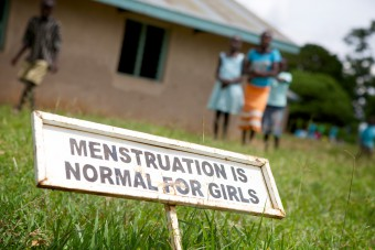 menstrual hygiene management in Uganda