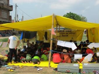 Kindvriendelijke ruimte in Nepal