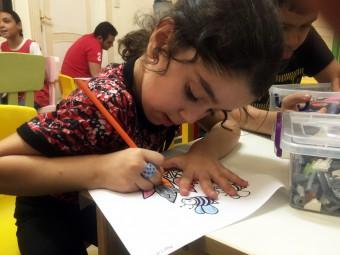 Syrisch vluchtelingenkind Amal