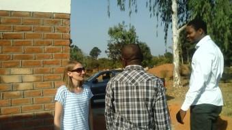WASH-deskundige Mascha Singeling op bezoek inj Malawi