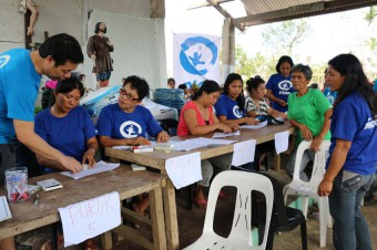 Plan International has started distributing relief items such as water and hygiene kits for 750 families affected by Typhoon Melor in Northern Samar. Assisting communities to access water and sanitation facilities will remain a priority over coming weeks.