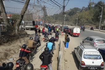brandstof tekort Nepal