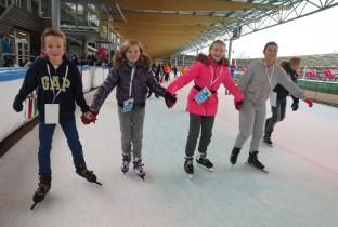 schaatsen voor water