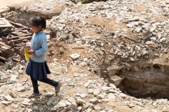 Nepal na de aardbeving