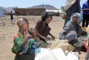 droogte in Ethiopie