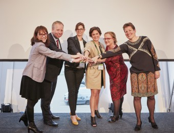 Researchovereenkomst gesloten op Women Deliver 16