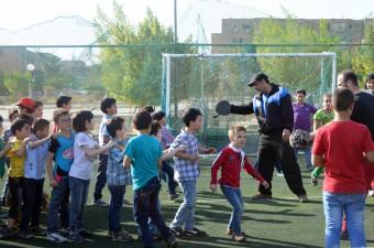 Onderwijs voor Syrische vluchtelingenkinderen