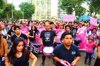 Demonstratie tegen geweld in Peru