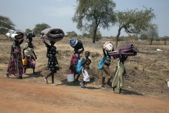 Op de vlucht in Zuid-Sudan