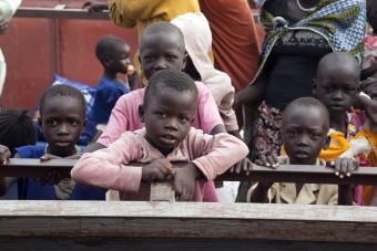 Alleenstraande kinderen in Zuid-Sudan