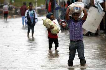 orkaan Haiti