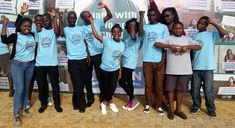 groep jongerenlobbyisten petitie malawi
