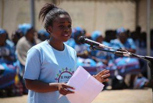 jongerenlobbyist memory petitie malawi