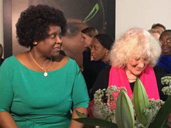 First Lady Mozambique bezoekt kantoor Plan Nederland over kindhuwelijken en tienerzwangerschappen