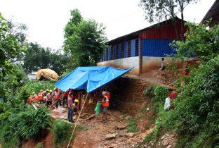 Dit deed Plan na de aardbeving in Nepal