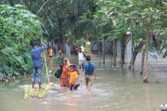 Noodhulp overstromingen Zuid-Azië