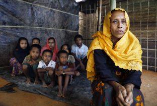 Rohingya vluchtelingen Bangladesh