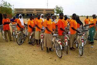 fietsen in burkina faso