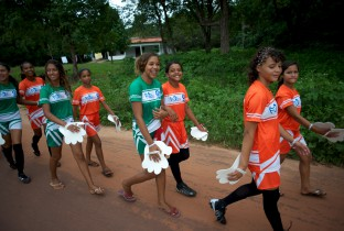 meisjesvoetbal Brazilië
