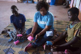 Dignity kits MHM Zuid-Sudan