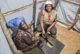 PLAN Dzaipi Refugee Camp, Adjumani, Uganda 12-13th February 2014
