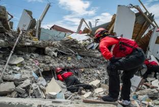 aardbeving in ecuador