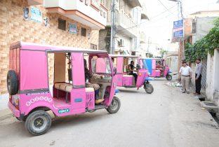 roze riksja's